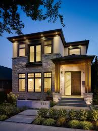 Inspiration for a small craftsman two-story mixed siding exterior home  remodel in Vancouver