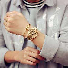 aliexpress com buy 2017 new fashion jis watch gold color mens aliexpress com buy 2017 new fashion jis watch gold color mens watches casual top brand luxury hot selling ladies watch steel women dress watches from