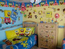 Kids' Bedroom Dcor Ideas Inspired by SpongeBob SquarePants