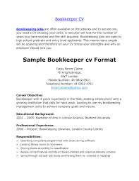Bookkeeper Resume Sap Fico Resume Sample Sample Resume Accountant