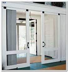 doors astonishing screens for patio doors double screen doors wooden floor white frame door rug