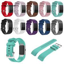GD Wrist Strap <b>Silicone Watchband</b>/<b>Screen</b> Fitbit Charge 2 | Shopee ...