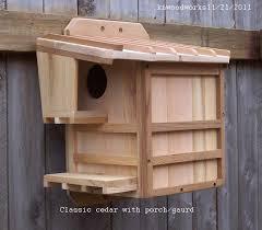 squirrel house plans. cedar squirrel house plans e