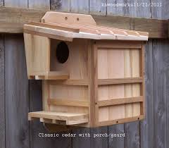 cedar squirrel house