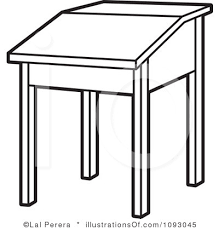 desk clipart black and white. desk clipart black and white panda free images intended for f