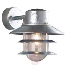 suspended lighting. Hot-dipped Outdoor Wall Lamp Blokhus, Suspended-7005102-01 Suspended Lighting