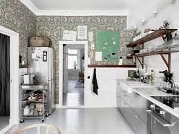 1 Kitchen Wallpaper Wall Covering Ideas In Interior