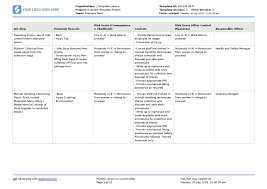 Examples Of Cleaning Schedules Safe Work Method Statement For Cleaning Free Cleaning Swms