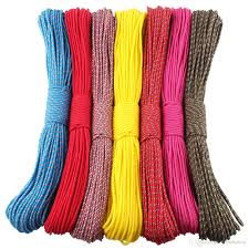 50ft 3mm paracord parachute cord rope 1 strand paracorde outdoor survival equipment clothes line diy paracord bracelet climbing holds bouldering shoes from