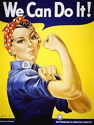 world war two women rosie the riveter