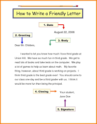 letter writing format grade 2 fresh letter template for grade 3
