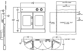 american range french door ovens view large diagram