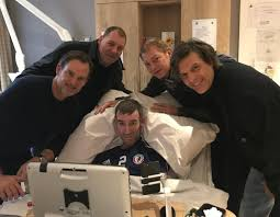 Rangers legend Fernando Ricksen admits he'll spend the rest of his life in  Scots hospice as he's not well enough to fly home to family in Spain
