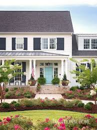 I recently saw a picture in southern living where the shutters on the house were a beautiful deep turquoise, and i was thinking this would continue in the same spirit as the jungle green, with a. Pin On Curb Appeal