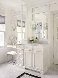 bright makeup vanities in bathroom traditional with girl bathroom next to vanity mirror alongside makeup table