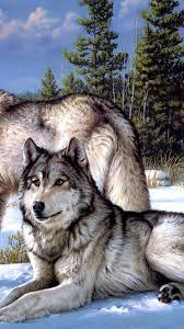 Cool Iphone 7 Wolf Wallpaper - HD Wallpaper