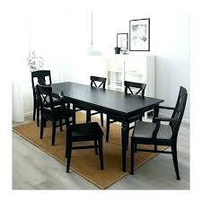 black table chairs black table and chairs 4 black round dining table black round dining table