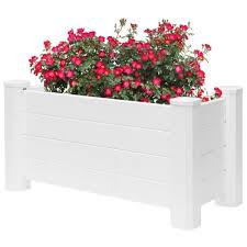 gardenised white vinyl traditional