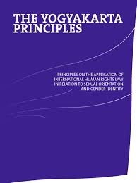 yogyakarta principles on the application of human rights law in  image of cover of yogyakarta principles