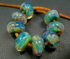 handmade custom murano borosilicate lampwork beads