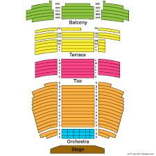The Carlsen Center Yardley Hall Seating Charts
