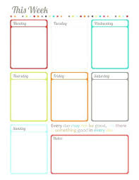 Personal Planner Free Calendar Agenda Template 2016 Appointment ...
