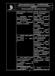 ш ч Система менеджмента качества СТО ПСП А^ Чк г Ц  практику годовые планы работы факультетов отчеты о работе факультетов итоги зимней и летней