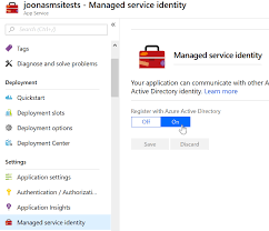 Accessing Azure Service Bus With Managed Identities Joonas Ws Blog