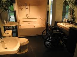 Handicapped Bathroom Gorgeous Bathroom Remodeling Of Elderly Or Disabled Outside Raleigh
