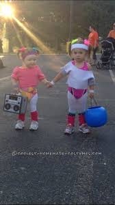 kids 80s costume inspirational cutest 80 s workout girls couple costume for toddlers