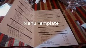 47 Menu Templates Free Excel Pdf Word Psd Free