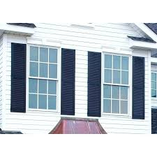 home depot exterior shutters home depot exterior shutters builders edge in x in louvered vinyl exterior