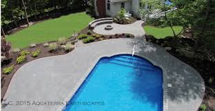 Small Picture Pool patio Landscape design NJ North Jersey Paver installation