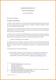 7 Confirmation Of Employment Letter Format Ledger Paper