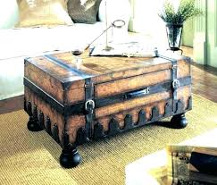 leather trunk coffee table coffee table trunks white trunk coffee table trunk as coffee table trunks