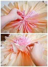 tutorial how to make giant paper flowers for a wedding or party backdrop or