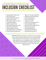 inclusion checklist a must have iep resource catherine whitcher inclusion checklist a must have iep resource catherine whitcher m ed