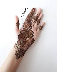 Mehndi Design Front Latest Arabic Mehndi Design For Front Hand K4 Fashion