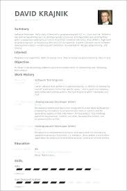 Resume Examples Software Engineer Best of Software For Resumes Resume Objective Software Engineer Software