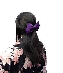 Amazon キモノカフェ Kimono Cafe 袴リボン髪飾り 袴用 ハイカラさん