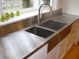 choosing countertops stainless steel