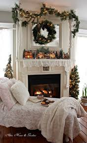 Relaxing Christmas tea time by the fireplace * sigh*