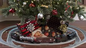 best train set for under the tree home decorating sets g scale tree