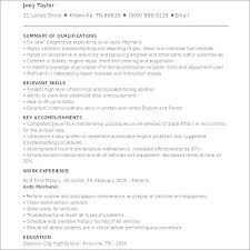 Sample Millwright Resume Mechanic Resume Examples Industrial ...