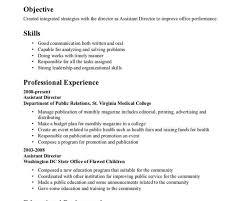 Emerson The Essays Sample Resume Salon Assistant Cheap