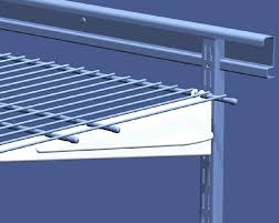 how to install wire shelving closetmaid installation