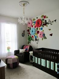 baby room design beautiful wall decoration of great chandelier