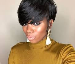 Stunning short pixie haircuts ideas Long Pixie Black Layered Pixie With Bangs Hairstyles Ideas 30 Stunning Short Hairstyles For Black Women 2018 Hairstyles Ideas