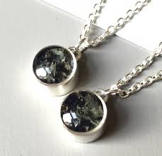 stonehenge smashed bluestone necklace