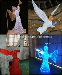angel outdoor lights how to led 3d motif street lighting decoration